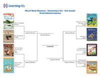 march book madness elementary 1st - 2nd grade