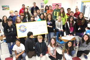 Barton Middle School in Buda, TX