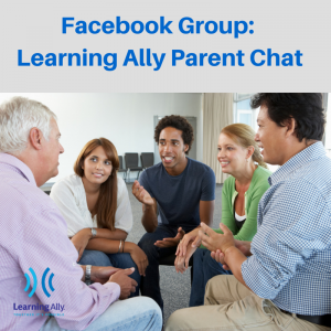 Facebook Groups- Learning Ally Parent Chat