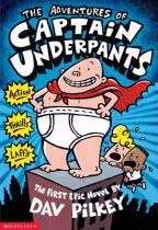 Captain Underpants Book Cover