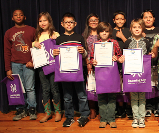 students awarded during games