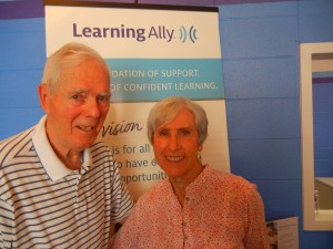 Tom and Bette, who donated their car to Learning Ally