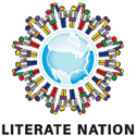 Literate nation logo